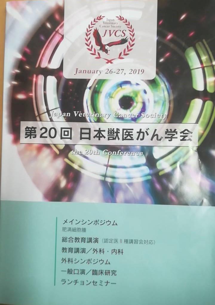獣医がん学会_d0156734_17382334.jpg