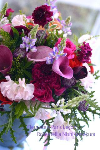 パリのお花屋さんレッスン_d0078355_14580157.jpg