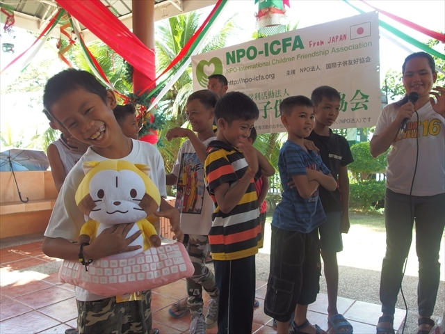2018年フィリピン マリンドォケ島3地域 友好支援配布イベントのご報告_e0135675_13075544.jpg