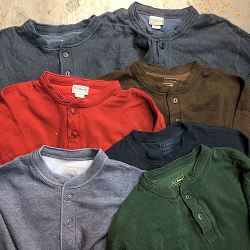 ◇ 休みのお知らせ & L.L.Bean Two-LAYER Shirts ◇_c0059778_13124249.jpg