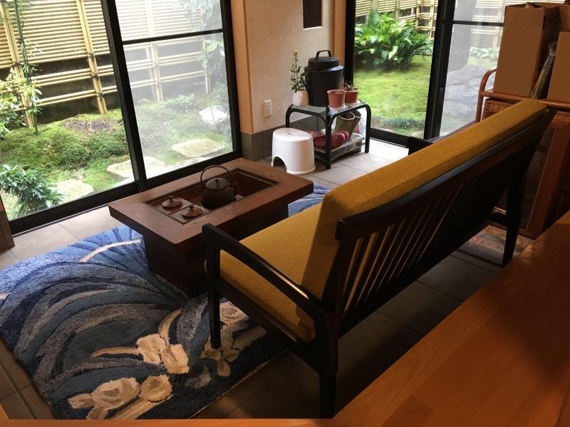 50年ご愛用のカリモク家具製長椅子と椅子の修理 石川県金沢市K様_d0224984_14262756.jpeg
