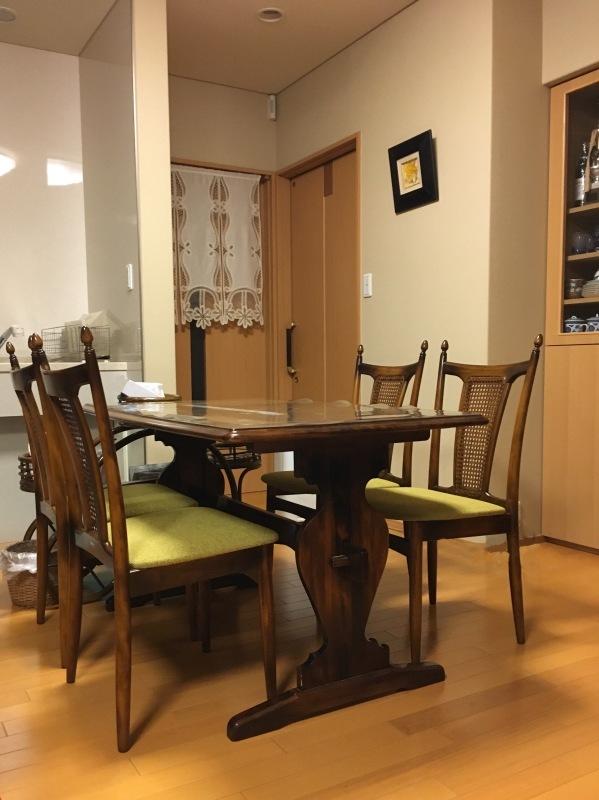 50年ご愛用のカリモク家具製長椅子と椅子の修理 石川県金沢市K様_d0224984_14271171.jpeg