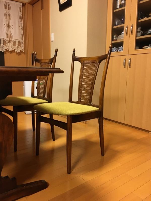 50年ご愛用のカリモク家具製長椅子と椅子の修理 石川県金沢市K様_d0224984_14275149.jpeg