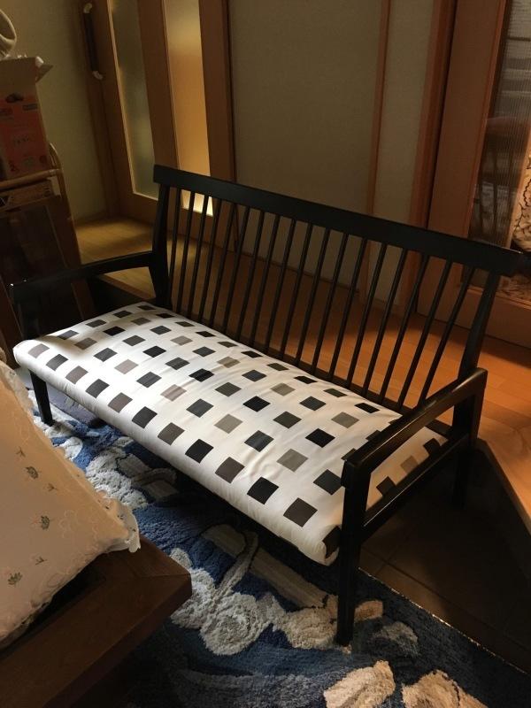 50年ご愛用のカリモク家具製長椅子と椅子の修理 石川県金沢市K様_d0224984_14282493.jpeg