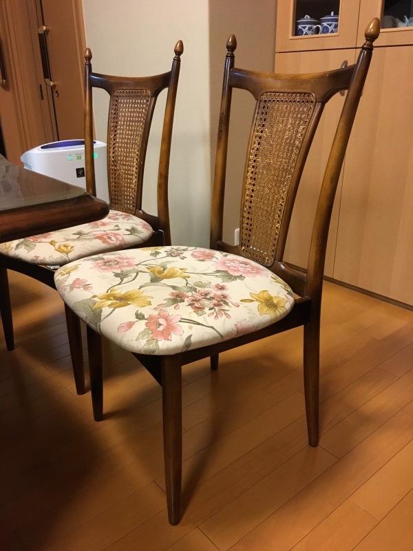 50年ご愛用のカリモク家具製長椅子と椅子の修理 石川県金沢市K様_d0224984_14285811.jpeg
