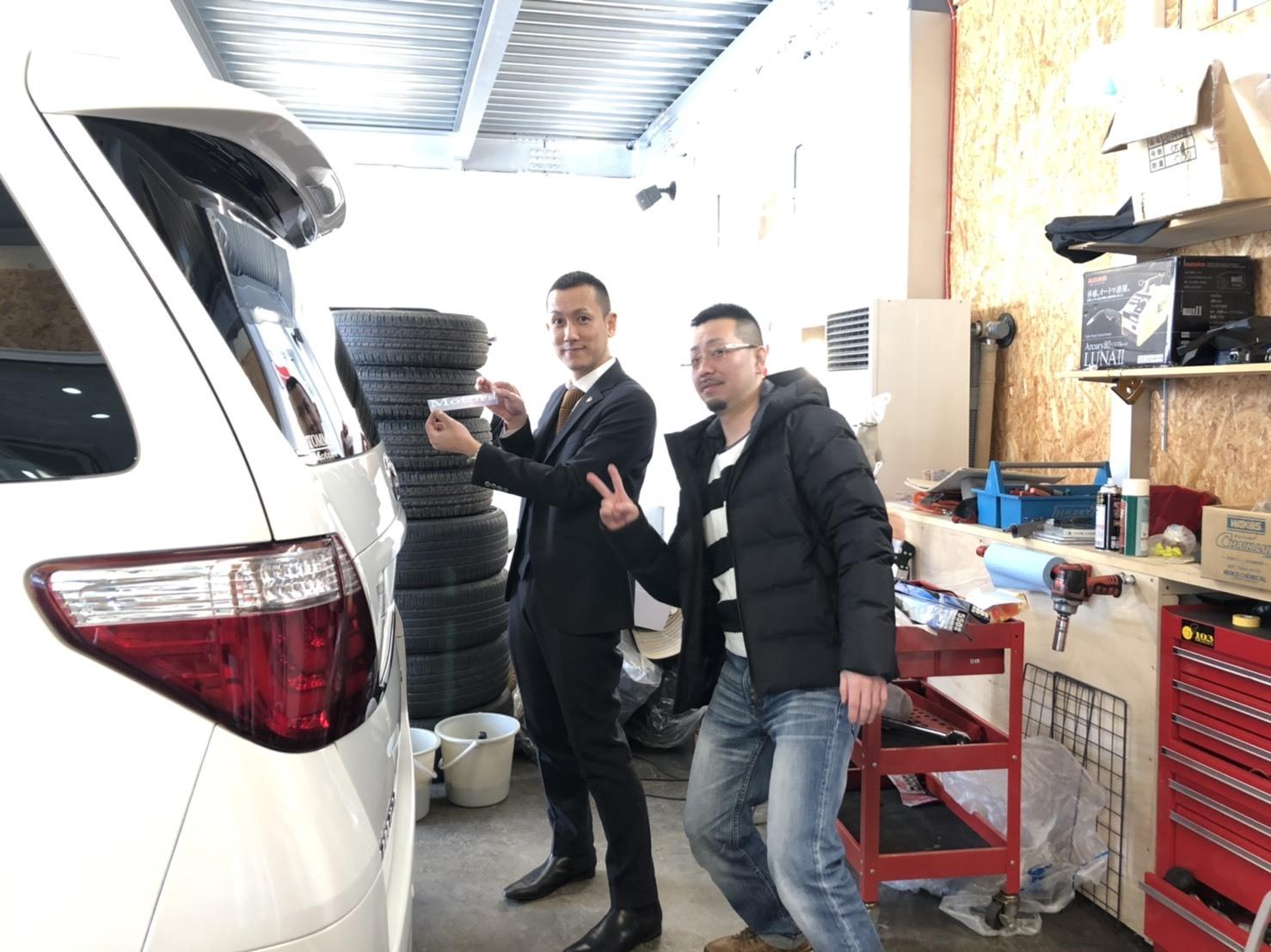 2月10日(日)M様アルファードご成約♡K様新車プラド納車♡ランクル TOMMY🌟_b0127002_17574320.jpg