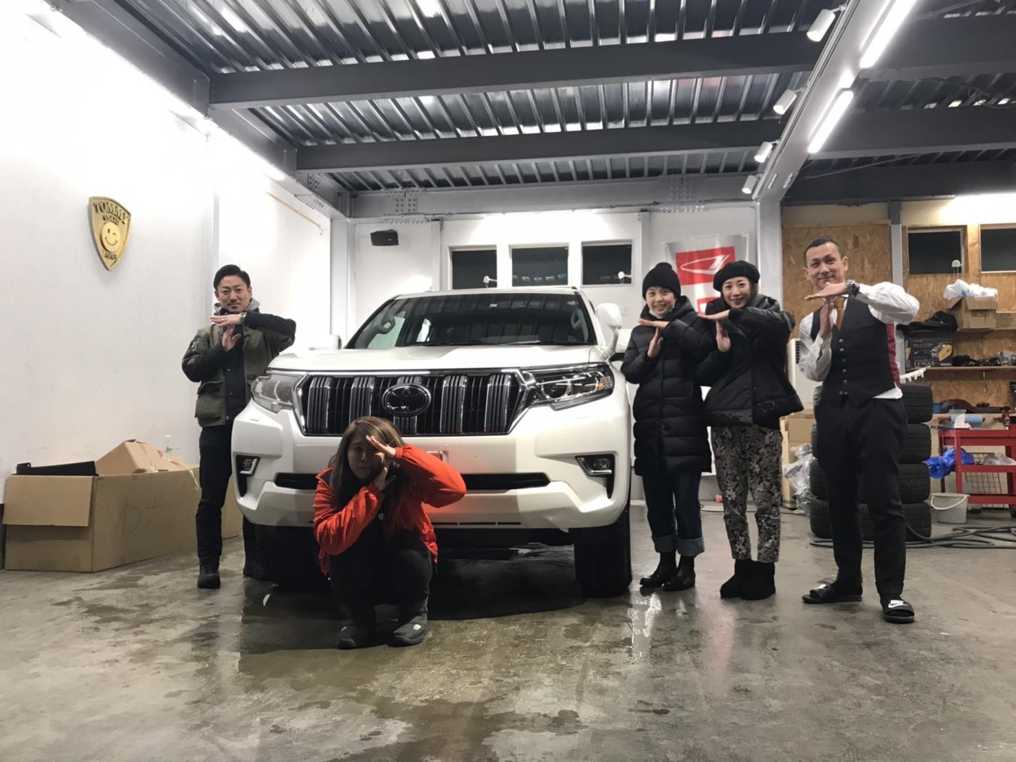 2月10日(日)M様アルファードご成約♡K様新車プラド納車♡ランクル TOMMY🌟_b0127002_19141119.jpg