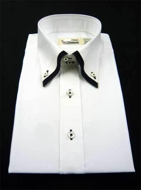 お客様のシャツ 白/黒_a0110103_20300883.jpg