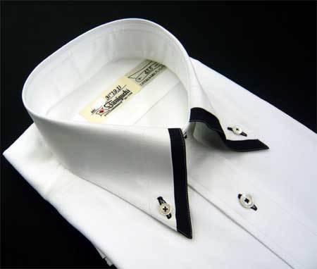お客様のシャツ 白/黒_a0110103_20302350.jpg