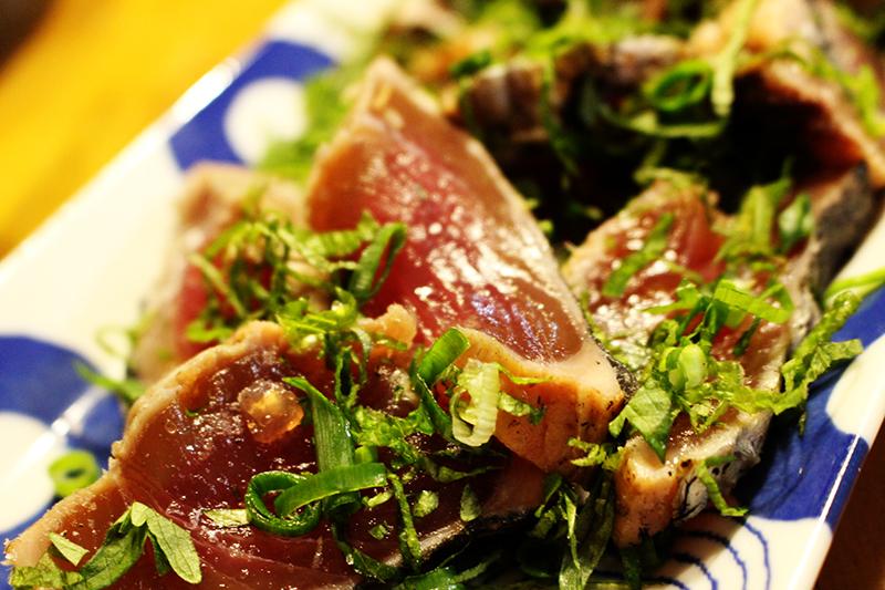 朝飯 藁焼き塩タタキ定食。_a0139912_08270218.jpg
