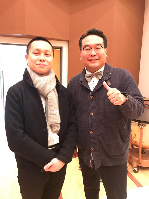 今日は、岡山県高等学校吹奏楽連盟主催による指導者講習会が、本校おんじホールで開催されました!_d0016622_19544228.jpg