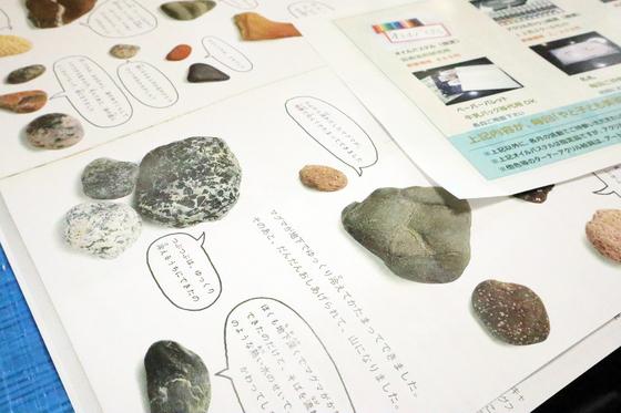 第4回こども美術教室 ~ 石に描いてペーパーウェイト ~_e0222340_1427859.jpg