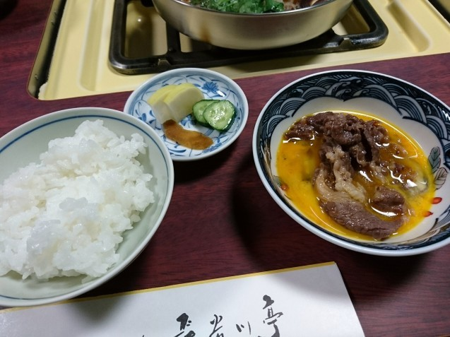 すき焼 長谷川亭(金沢市笠市町)_b0322744_23085150.jpg
