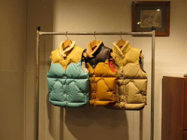 """RockyMountainFeatherbed WOMEN\'S CHRISTY VEST #DownVestFair\""ってこんなこと。_c0140560_08261126.jpg"