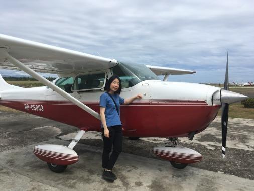 フィリピン人も体験操縦!_f0210164_08533776.jpg