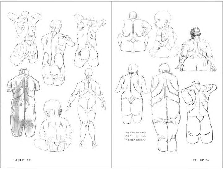 2019年02月 新刊タイトル モルフォ人体デッサン ミニシリーズ 脂肪とシワを描く_c0313793_07572267.jpg