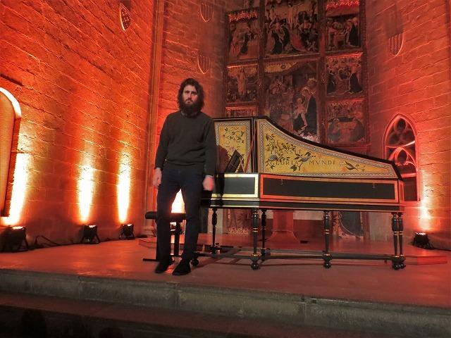 聖アガタ礼拝堂で Jean Rondeauのチェンバロを聴く_b0064411_06043518.jpg