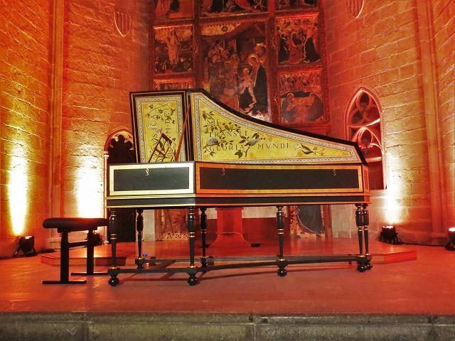 聖アガタ礼拝堂で Jean Rondeauのチェンバロを聴く_b0064411_06043620.jpg