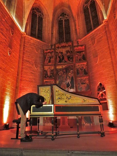 聖アガタ礼拝堂で Jean Rondeauのチェンバロを聴く_b0064411_06043629.jpg