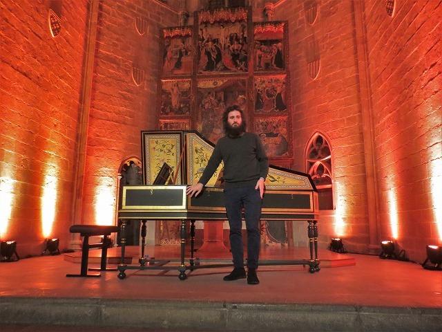 聖アガタ礼拝堂で Jean Rondeauのチェンバロを聴く_b0064411_07374120.jpg