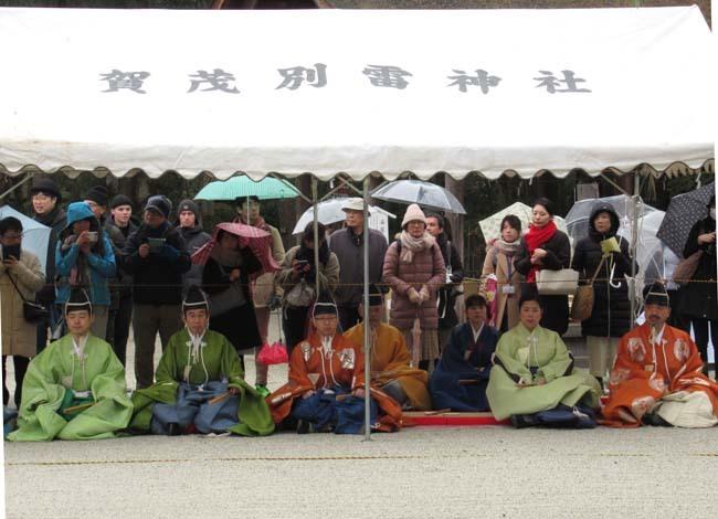 建国記念日 上賀茂神社けまり_e0048413_21441022.jpg