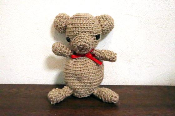 編みもの ~ クマの編みぐるみ ~_e0222340_1534986.jpg