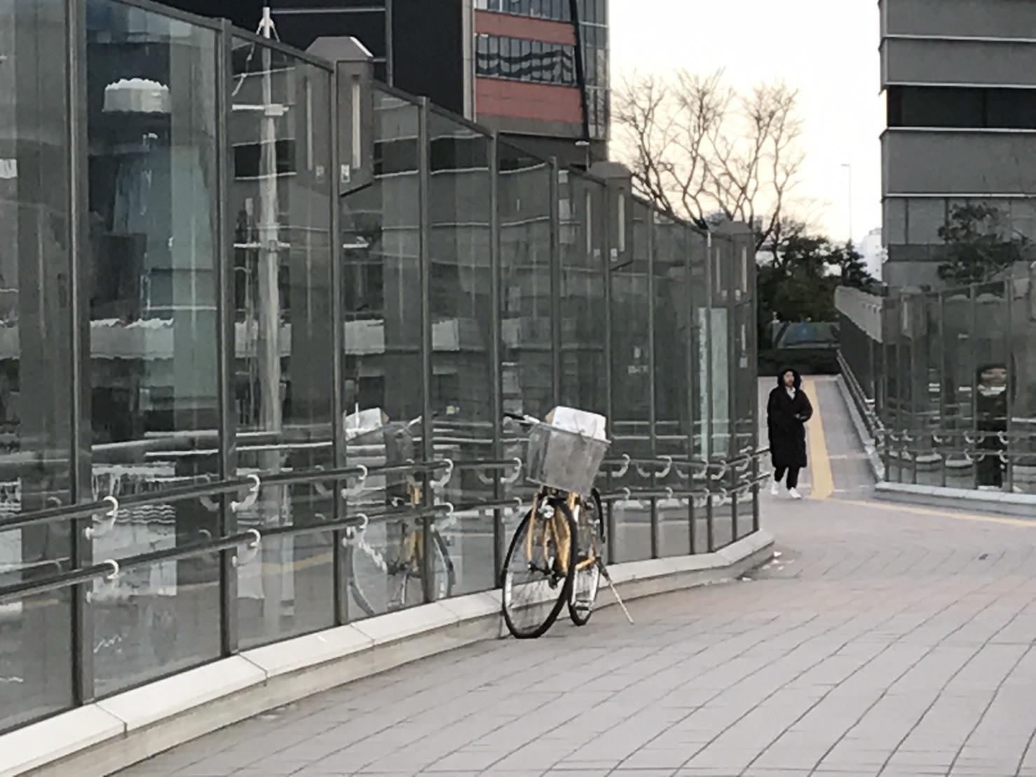 自転車泥棒が乗り捨てた現場_b0017844_09291107.jpg