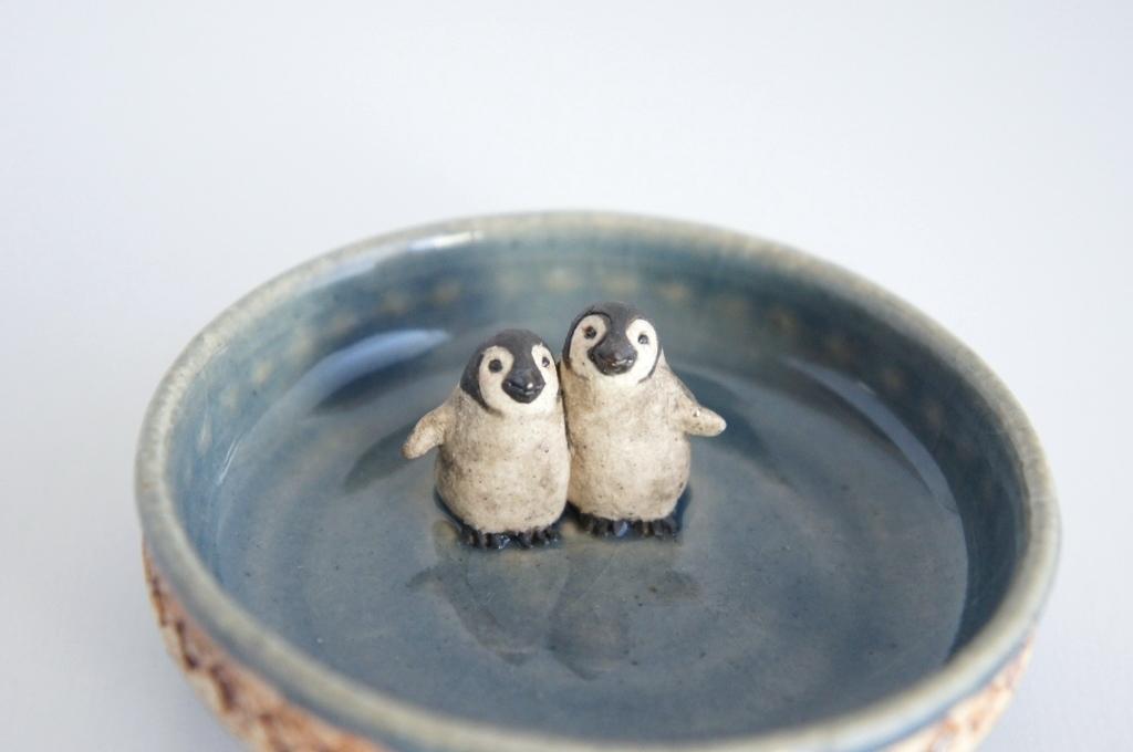 芽吹き展 渡邉貴子さんのペンギンと・・・_b0353974_19214265.jpg