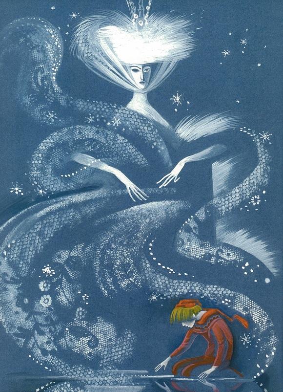 Nika Goltz画の雪の女王_c0084183_9493771.jpg