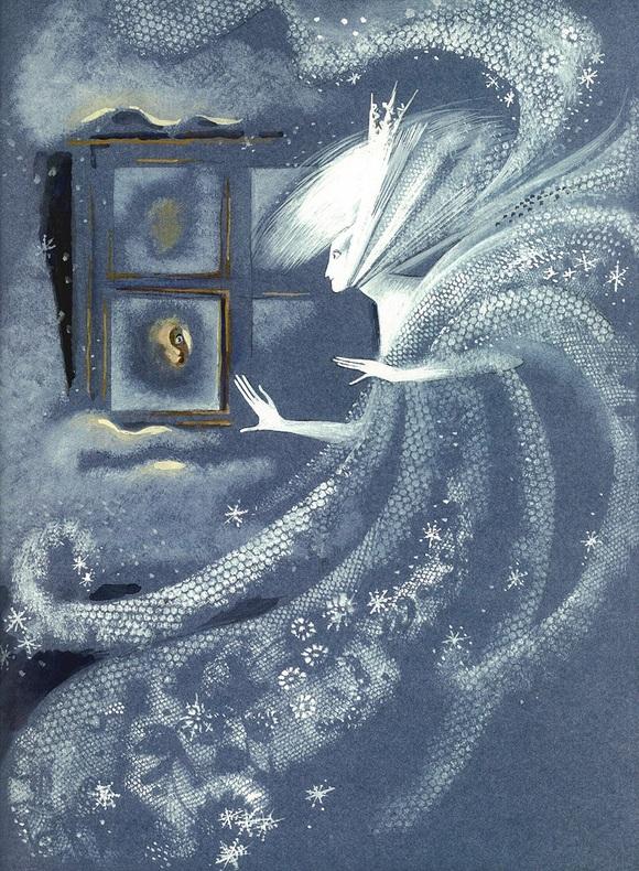 Nika Goltz画の雪の女王_c0084183_9495962.jpg