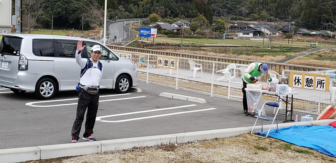 第2回錦江湾一周100キロの完歩報告_e0294183_08304356.jpg