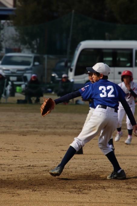 自信を持って野球をすること(小学部)選手紹介⑩O君_f0209300_17145877.jpg
