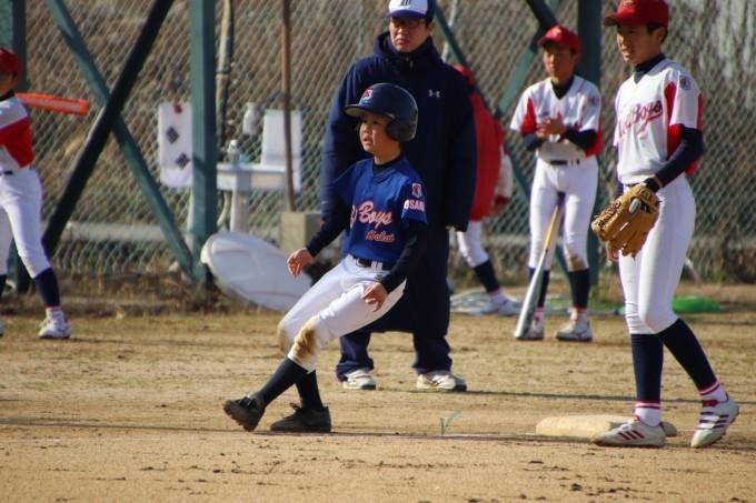 自信を持って野球をすること(小学部)選手紹介⑩O君_f0209300_17154321.jpg