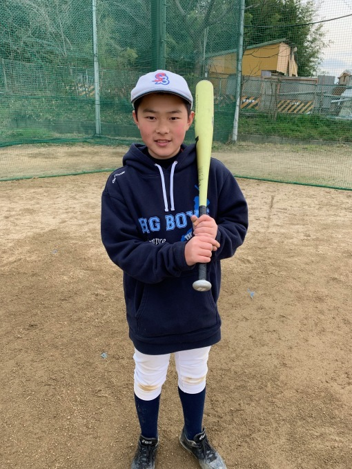 自信を持って野球をすること(小学部)選手紹介⑩O君_f0209300_18012802.jpeg