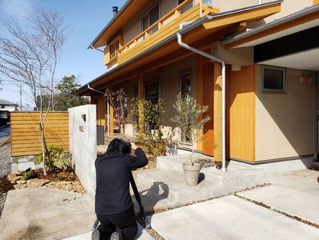 建築雑誌の取材・撮影がございました。_a0059217_23405668.jpg