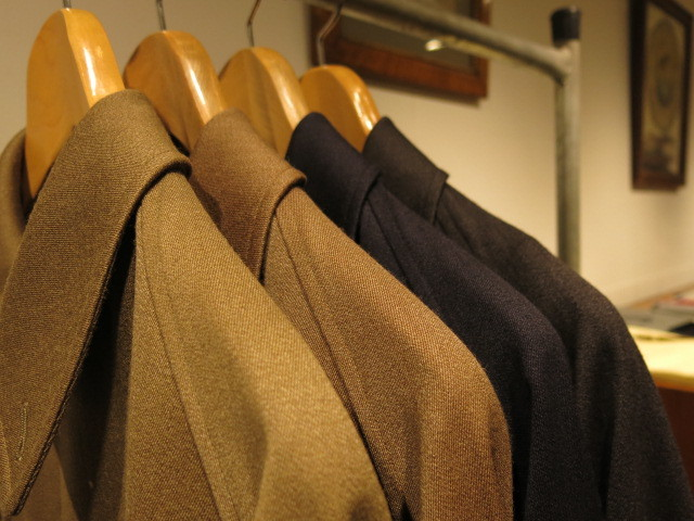 "\""ANATOMICA SINGLE RAGLAN Ⅵ COVERT CLOTH\""ってこんなこと。_c0140560_18263334.jpg"