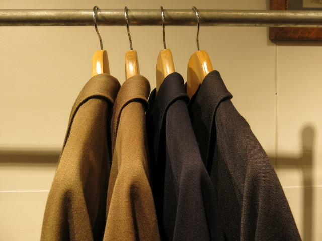 "\""ANATOMICA SINGLE RAGLAN Ⅵ COVERT CLOTH\""ってこんなこと。_c0140560_18264221.jpg"