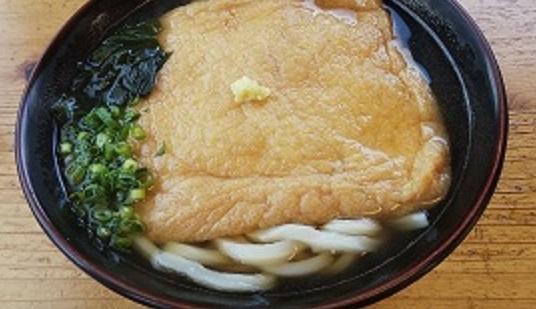 「麺処 みのり」で初きつねうどん_d0043390_22010516.jpg