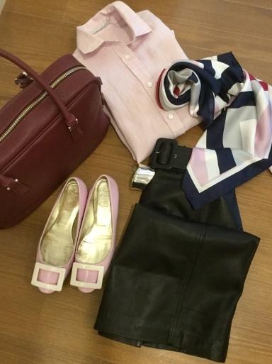 「麻シャツのピンク」をどう着る?…②_b0210699_22393133.jpeg
