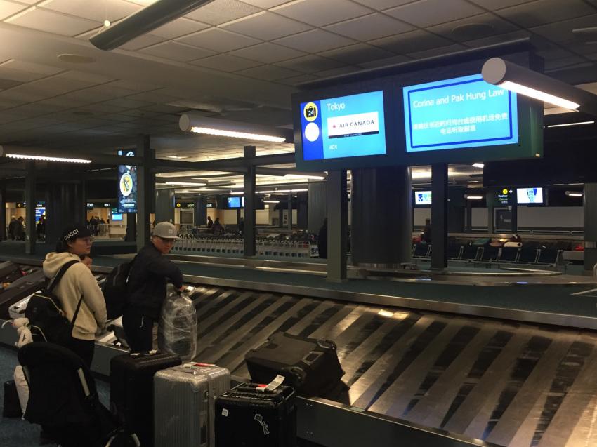 新しくなった バンクーバー空港の国内線乗り継ぎ方法。( 2019年1月現在 )_d0112928_06392190.jpg