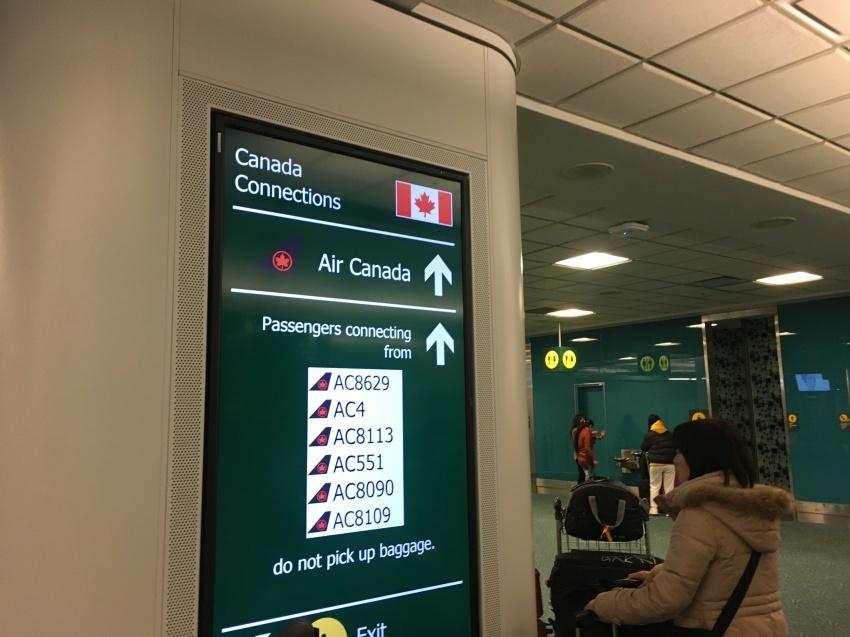 新しくなった バンクーバー空港の国内線乗り継ぎ方法。( 2019年1月現在 )_d0112928_06491496.jpg
