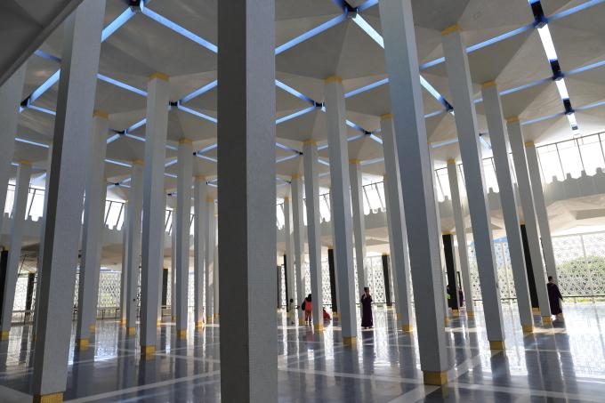 【国立モスク Masjid Negara】マレーシア旅行 - 12 -_f0348831_23050443.jpg