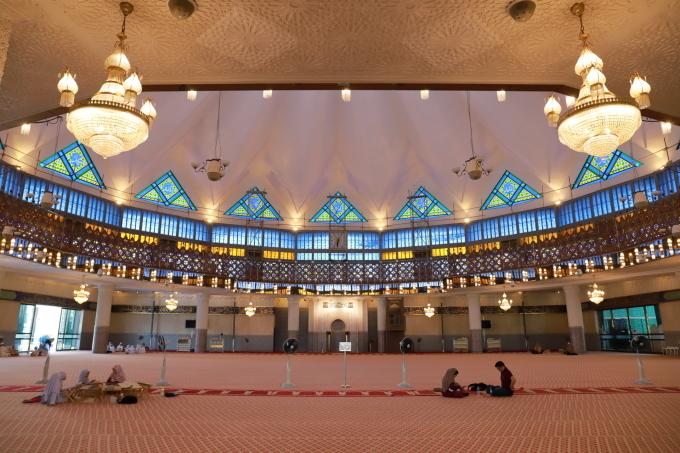 【国立モスク Masjid Negara】マレーシア旅行 - 12 -_f0348831_23050849.jpg