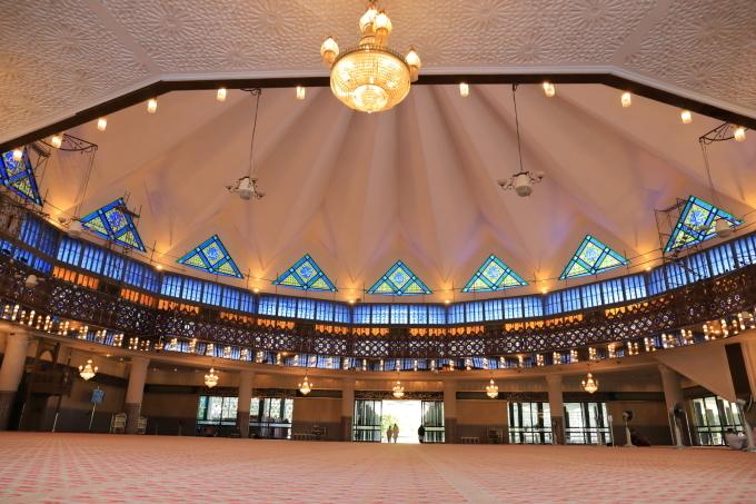 【国立モスク Masjid Negara】マレーシア旅行 - 12 -_f0348831_23050989.jpg