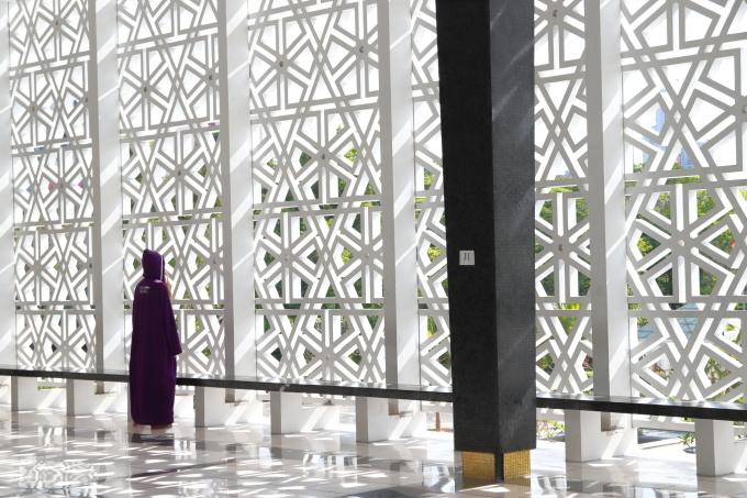 【国立モスク Masjid Negara】マレーシア旅行 - 12 -_f0348831_23051320.jpg