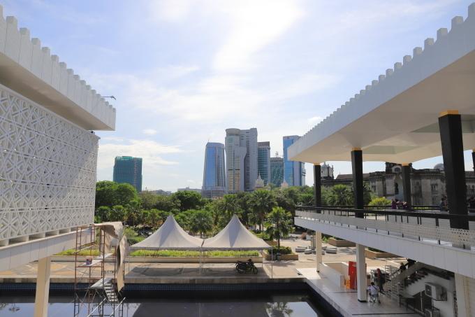 【国立モスク Masjid Negara】マレーシア旅行 - 12 -_f0348831_23051988.jpg