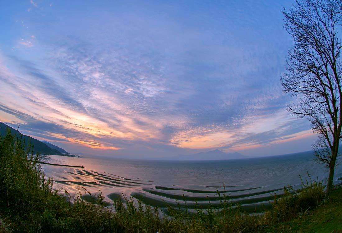 ✔ 干潟の砂模様=熊本県:御輿来海岸_d0238245_20215931.jpg