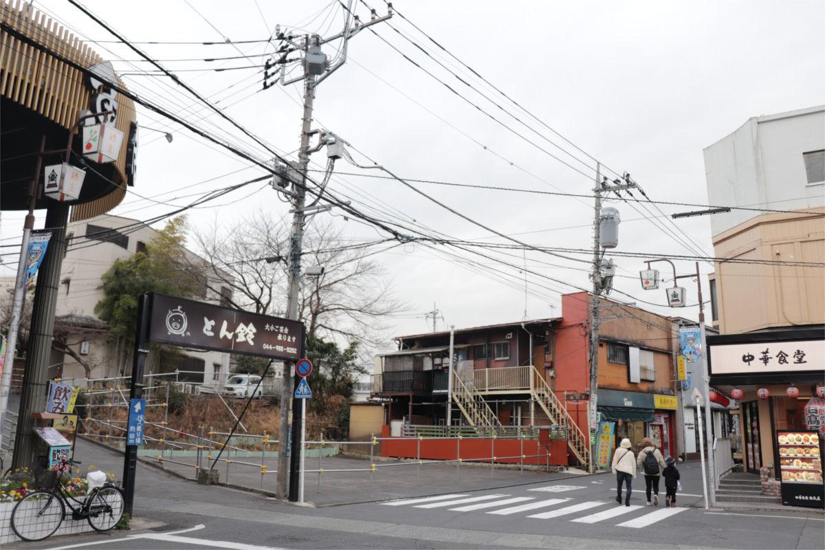 柿生駅南口再開発が始動 駅前に30階建て高層ビル建設へ 着手前の状況_a0332275_02430271.jpg
