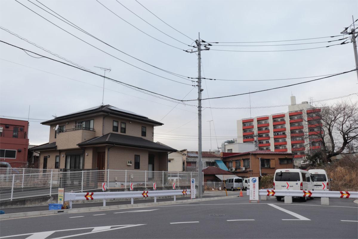 柿生駅南口再開発が始動 駅前に30階建て高層ビル建設へ 着手前の状況_a0332275_02551880.jpg