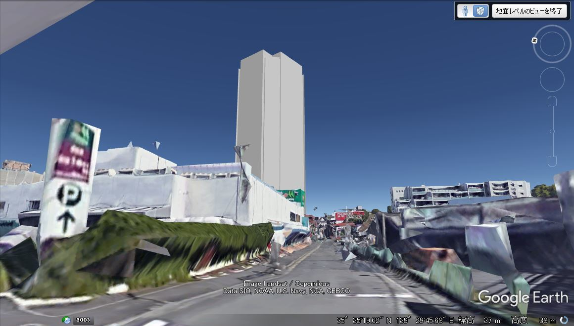 柿生駅南口再開発が始動 駅前に30階建て高層ビル建設へ 着手前の状況_a0332275_03081382.jpg